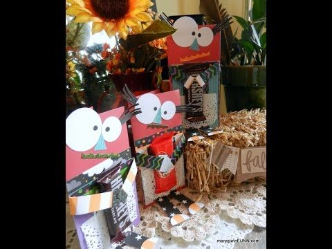 FUNN how-to video Silly Mama Monster Candy Holder Card #ctmhjeeperscreepers #candyholder