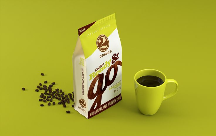 2 Degrees Coffee Ready & Go on Behance