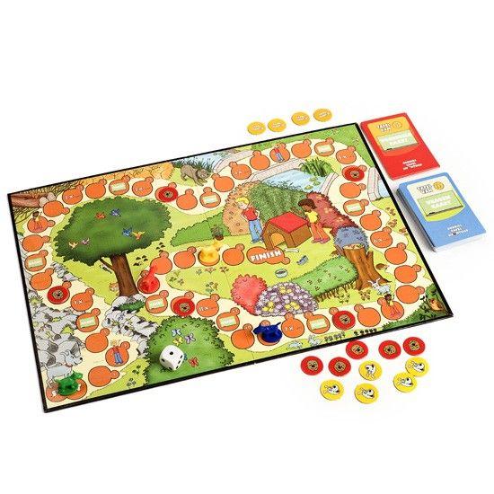 Wat is er nu fijner dan de tafels samen oefenen? Bij dit bordspel moeten spelers onderweg tafelsommen uitrekenen en rekenvragen beantwoorden om te winnen.