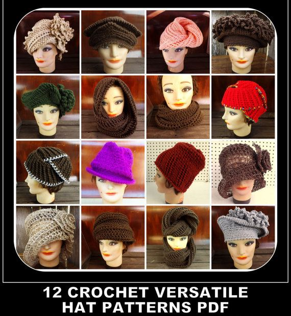 Choose 12 Unique Crochet Patterns Womens by strawberrycouture