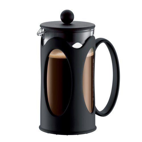Bodum New Kenya 12-Ounce Coffee Press, Black