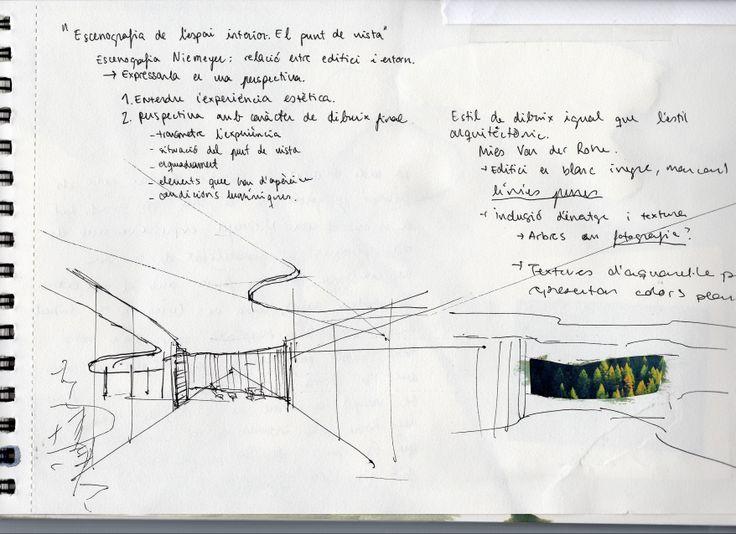 Casa das canoas oscar niemeyer croquis by xercavins ad for Oscar plans