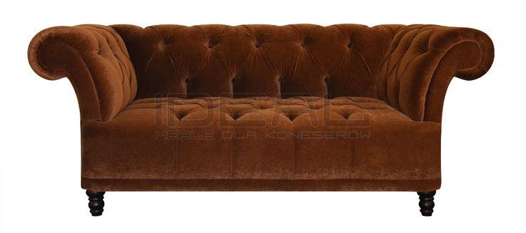 Przepiękna sofa chesterfield, radość domowników, chluba gospodarza, zazdrość gości. Pikowane siedzisko i pikowane oparcie eksluzywny produkt dla koneserów.  Sofy - Sofa Chesterfield Dorset - IdealMeble