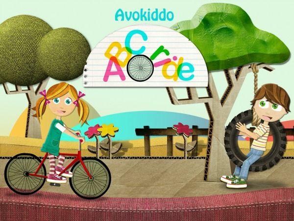 ABC App~Avokiddo ABC Ride