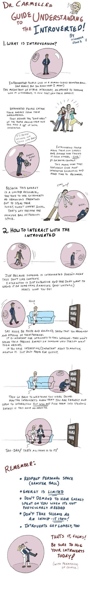 How to Live with Introverts by =SchroJones on deviantART