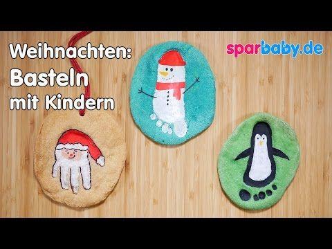 DIY Weihnachten basteln mit Kindern - Salzteigbilder - YouTube