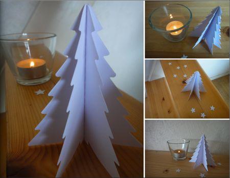 Sapin de noel avec du papier pinterest - Origami sapin de noel facile ...