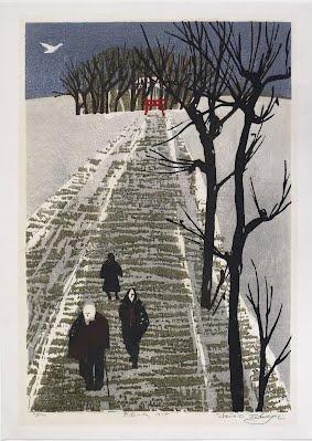 Takagi Shiro, woodcut