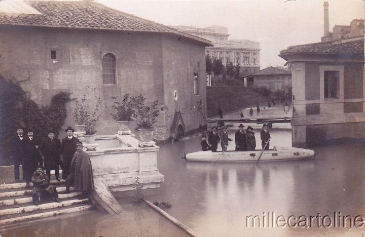 Roma Sparita - Inondazione a Castel Sant'Angelo