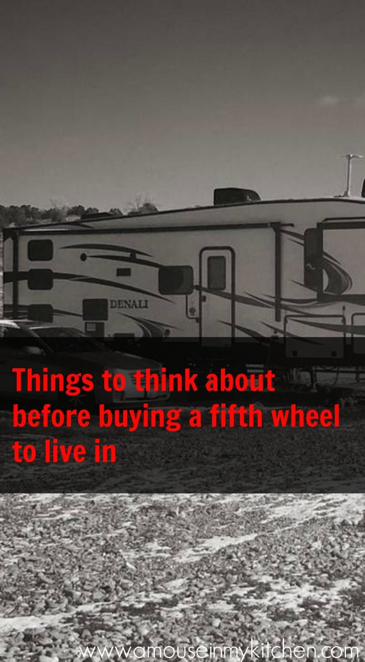 When we decided to move into a fifth wheel, the shopping process was a little overwhelming at first. There are SO many options. Do we go new? Used? Do we even need a fifth wheel or will a travel trailer work better? What features do we HAVE to have? How much money should we spend? …