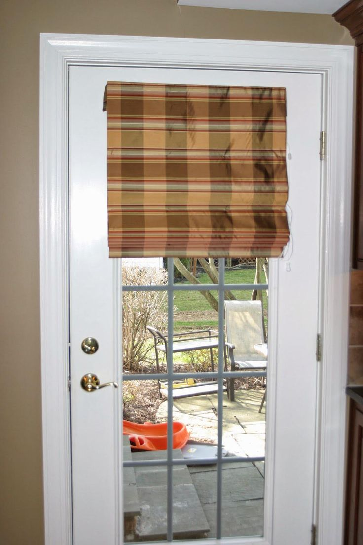 French Door Shades New Touch to Your Interior : Fabric Shades For French  Doors. Fabric shades for french doors. more window treatments ideas