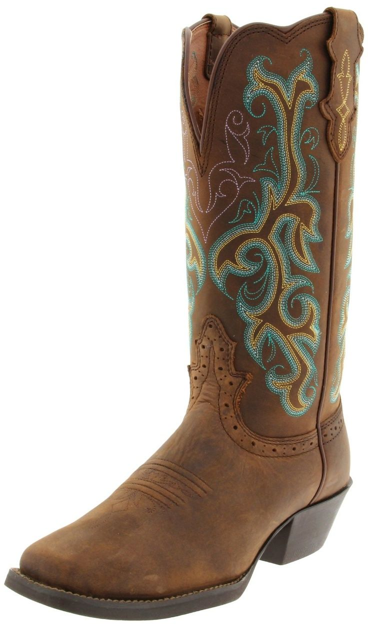 Cheyenne Canyon Western Stampede Square Toe Boots L2552. See more. Justin  Boots - Bent Rail. These are just gorgeous. I wish it had a