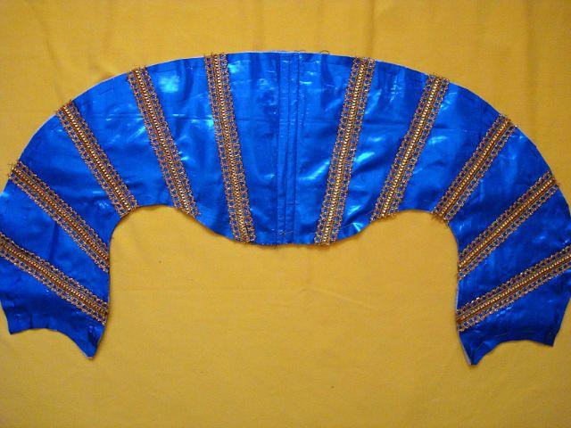 Воротник карнавального платья