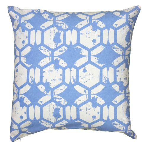 Periwinkle Blue Throw Pillow : Wheatley Throw Pillow with Hidden Zipper Throw pillows, Periwinkle blue and Pillows
