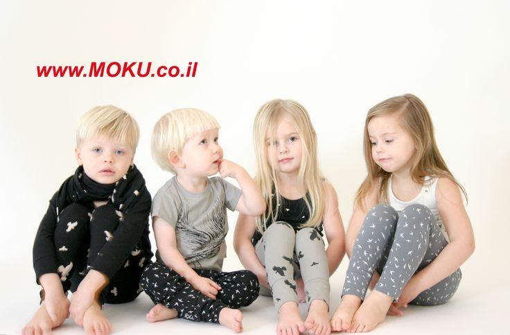ביגוד אורגני לתינוקות ופעוטות קולקציית חורך של MOI  באתר מוקו www.moku.co.il