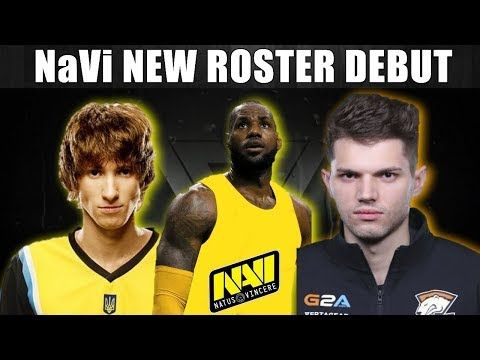 NAVI NEW ROSTER DEBUT Navi vs Gambit CIS DAC 2018 Dota 2