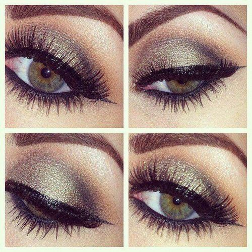 Bronze Smokey Eye Makeup For Hazel Eyes Makeup Amp Beauty