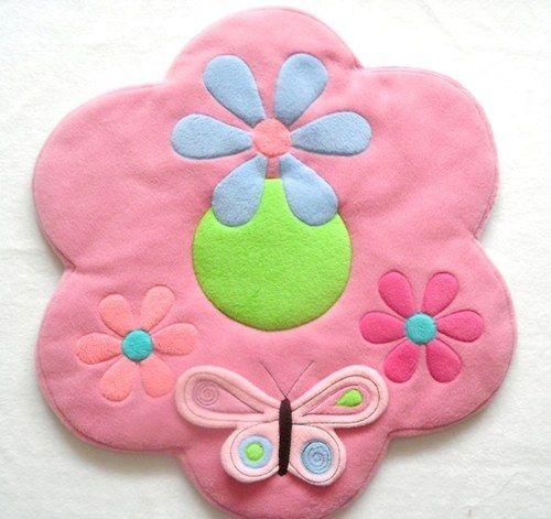 Kobereček - kytka s 3D motýlem