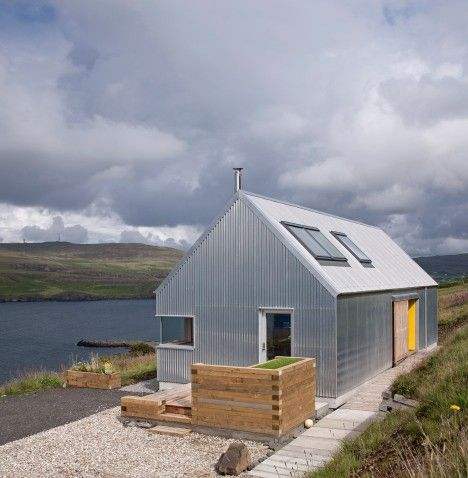 Scottish architecture studio Rural Design has completed a shed-like holiday home on Scotland's Isle of Skye