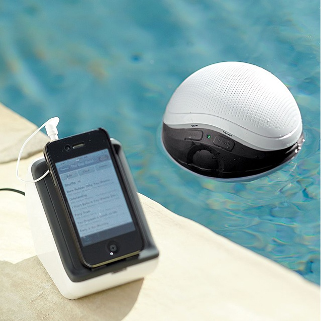 Wireless Floating Pool Speaker From Cables Unlimited