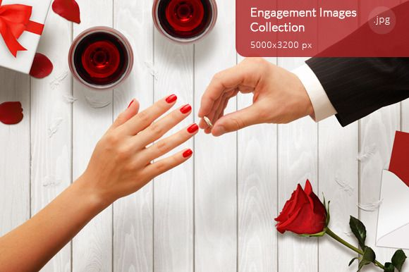 Engagement Images Collection by RSplaneta on Creative Market
