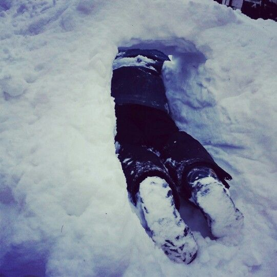 #snow #castle #kids #winter #finland #outdoor