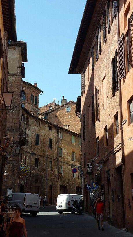 Italy  Street of Sienna