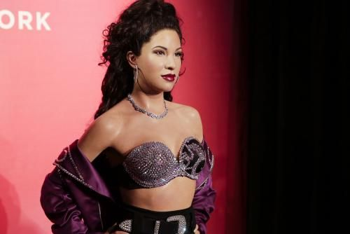 Late Tejano singer Selena Quintanilla was honored with a statue at Madame Tussauds in New York more than 22 years after her death.