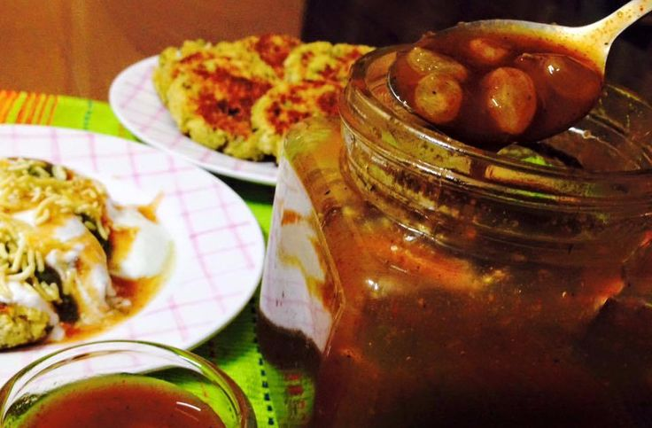 Amchur Chutney With Brown Sugar