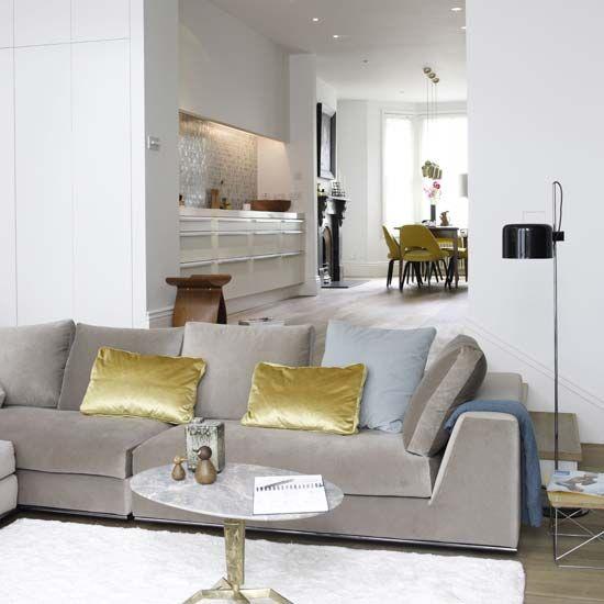 169 besten Modern Masculine Interiors Inspiration Bilder auf - wohnzimmer mit offener küche
