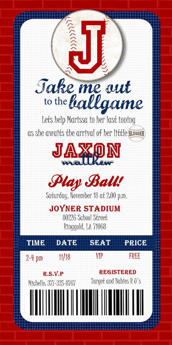 printable baseball ticket invitation diy baseball ticket invitation