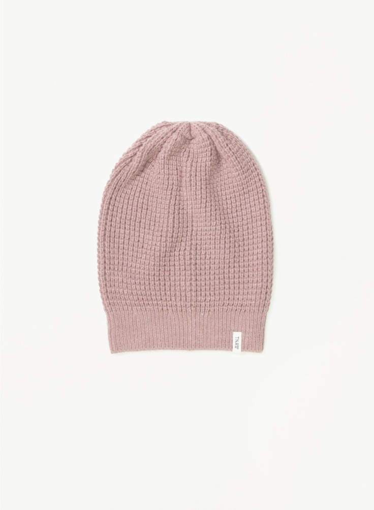 TNA ALPS HAT - A military-inspired winter toque with a textured waffle-knit  come to meeeeeee