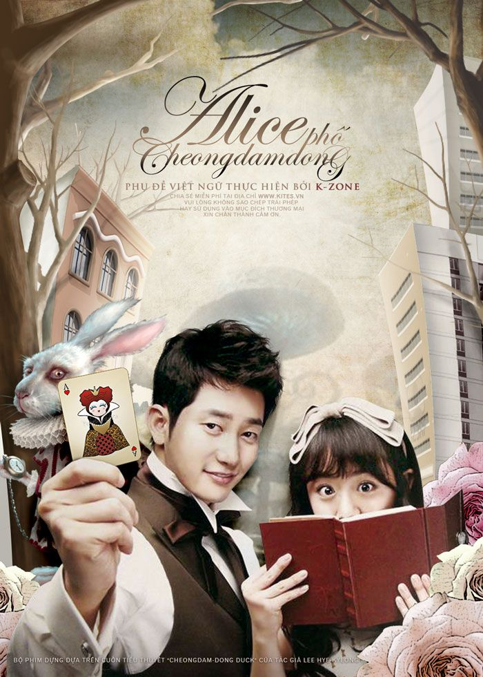 """Cheongdamdong Alice ~ Han Se Kyung (Moon Geun Young) is a talented young designer who lives each day with the motto """"Strive for your dream to succeed"""". Until she met Cha Seung Jo (Park Shi Hoo) a president of a luxury brand shop in Cheongdam-dong who will change her life - The writing on this is good and each episode really surprises me. Finale next week. Can't wait."""