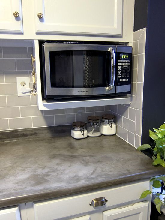 Major DIYu0027s In The Kitchen: PART 3 U2013 Additional Shelving. Microwave  StandMicrowave CartMicrowave ...