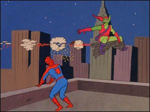 The '60s Spider-Man cartoon was insane. The plots were so violently against reason that the studio was probably under constant attack by witch hunters.