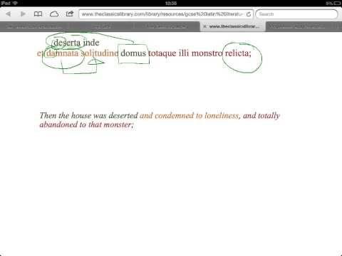 ▶ 2012 GCSE Latin Pliny Ghosts 4 - YouTube