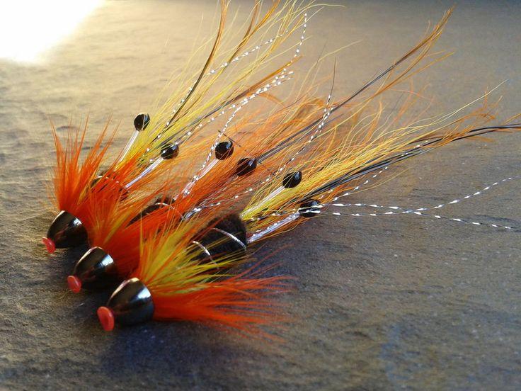 Cascade Snaelda (Shrimp Eye) Tungsten Conehead Salmon Tubes