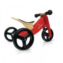 Kinderfeets - Tiny Tot Red 2-in-1 Balance Bike and Tricycle 2 My 18mo would love to scoot around on this cute trike! #entropywishlist #pintowin