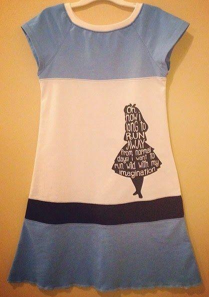 Alice in Wonderland ~ Free Silhouette File | Pinafores & Pinwheels