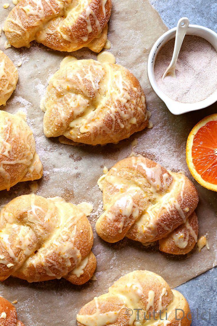 bread knots | breakfast bread | sweet bread recipes
