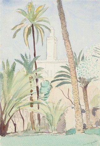 Albert Marquet (1875-1947) Titre « Les Palmiers, Algérie »