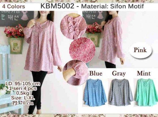 Baju Atasan Wanita KBM5002