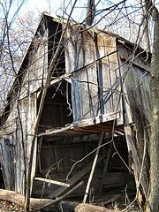 """The Top 10 Haunted Places in Ohio"" #9 Old Xenia Road Woods, just south of London Ohio"