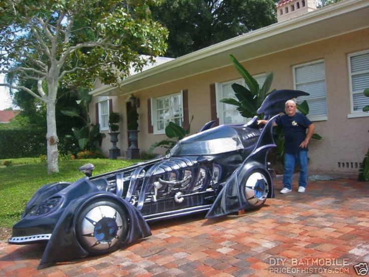 This 22 Foot Long Batmobile Was Built By Oscar Pumpin Who
