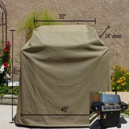 Formosa Covers BBQ Grill cover up to 45 inch, Brown