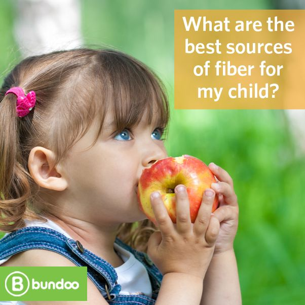 Fiber is essential for normal digestion and bowel movements, so know the best sources of fiber for your child.