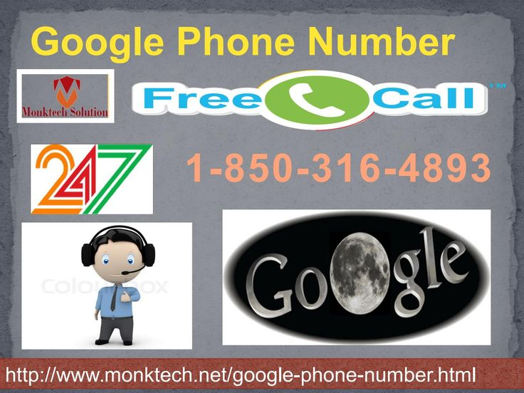 Yes, it is so true that Google phone number has become an integral part of every Google user. So, whenever the Google users encounter any infuriating Google glitches then you are advisable to get your handset in your hand and then make a contact with reputed Google experts by placing a call at number 1-850-316-4893 . Since doing so you will be provided with a variety of customer support services. For more info visit us : http://www.monktech.net/google-phone-number.htmlSee Less