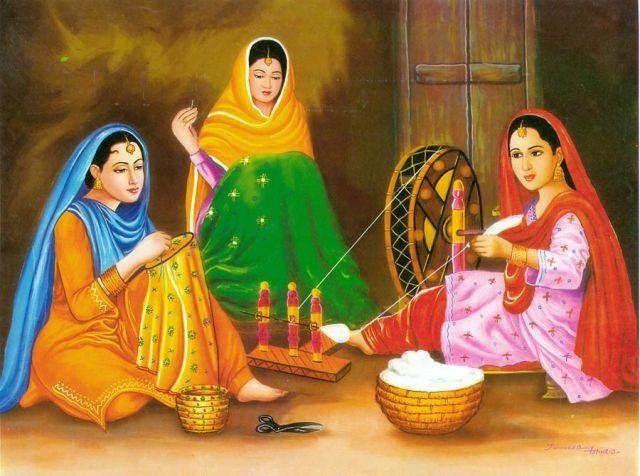 Punjabi women
