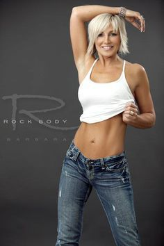Fifty, Fit, and Fabulous!!! Barbara Server, Age 53 (She lives around the corner from the Fountain of Youth)....an inspiring article