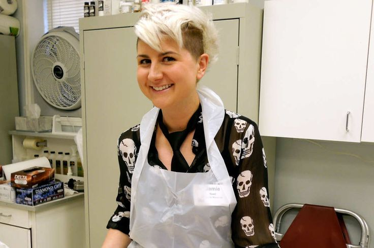 "Meet Jamie Reed, a friendly embalmer who ""just loves taking care of dead people."""